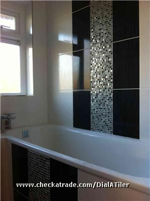 Kitchen Walls in Patterned Ceramic